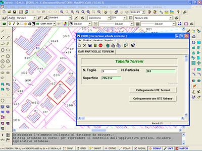 Consultazione dei dati relativi a un mappale